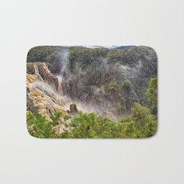 Roaring water at Barron Falls Bath Mat