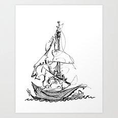 Melo the Explorer, Oct '15 Art Print
