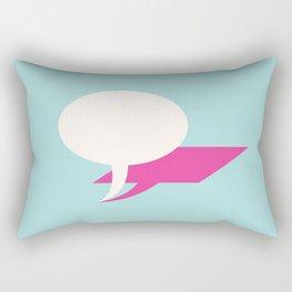 lie Rectangular Pillow
