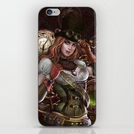 Steampunk iPhone Skin