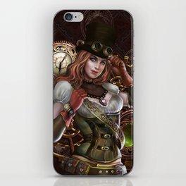 Steampunk iPhone Skin