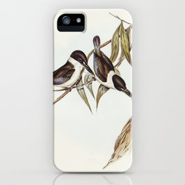 Halcyon sordid (Sordid Halcyon) illustrated by Elizabeth Gould (1804–1841) for John Gould's (1804-18 iPhone Case