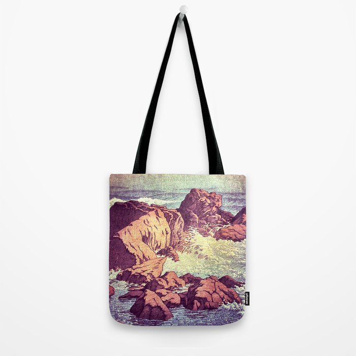 Stopping by the Shore at Uke Tote Bag