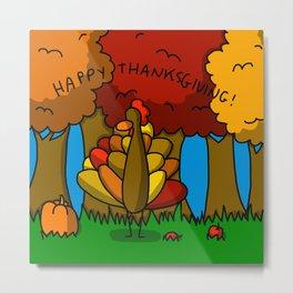 Happy Thanksgiving! Metal Print
