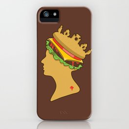 Burger Queen aka Royal With Cheese iPhone Case
