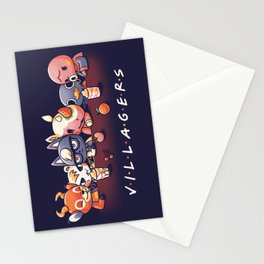 Villagers Stationery Cards