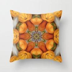 pumpkin ( pattern ) Throw Pillow