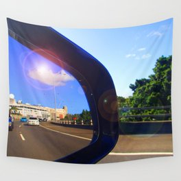 Rear Vision II Wall Tapestry