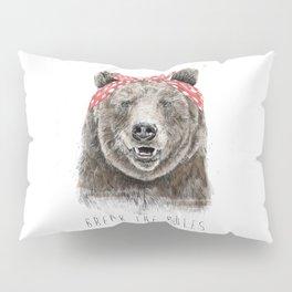 Break the rules (color version) Pillow Sham