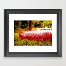Red Harvest Framed Art Print