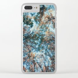 look up 02 Clear iPhone Case
