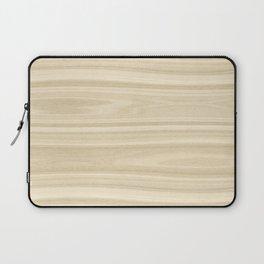 Maple Wood Texture Laptop Sleeve