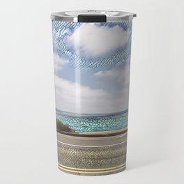 Cliffside Mosaic Travel Mug