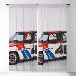 BRE Racing 510 Vintage JDM SCCA Championship Classic Automobile Blackout Curtain