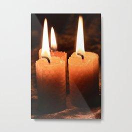 Light Your Way Metal Print