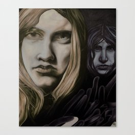 Lonliness creeps  Canvas Print