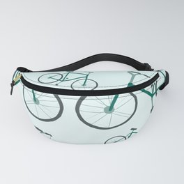 Green Fixie Bicycles Fanny Pack
