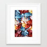 soul Framed Art Prints featuring Heart & Soul by Joke Vermeer