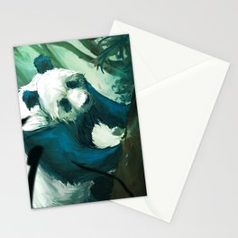 The Lurking Panda Stationery Cards