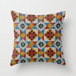 Azulejos V Throw Pillow