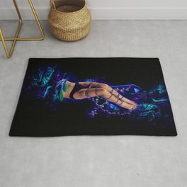 Tie Yourself up & Set Yourself Free Rug
