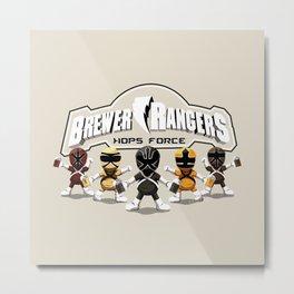 Brewer Rangers Metal Print