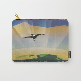 A Super Earth Retro Space Poster Carry-All Pouch