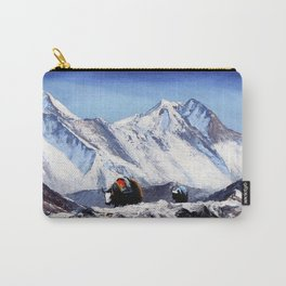 Black Yak On Everest Base Camp Carry-All Pouch