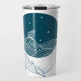 Whale dream Travel Mug