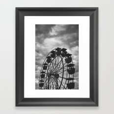 Meloncholy Midway Framed Art Print