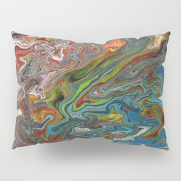 Abstract Oil Painting 13 Pillow Sham