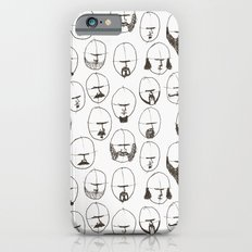 Moustaches and Beards Slim Case iPhone 6s