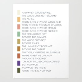 Reminder of Such Things Art Print