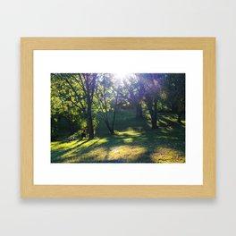 Sunsets in Boston Framed Art Print