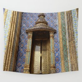Ancient Doorway #3 Wall Tapestry