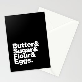 The Fab 4 - Baking Stationery Cards