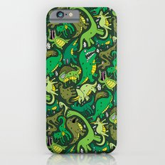 Dino Pattern iPhone 6 Slim Case