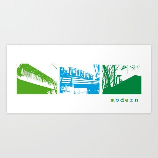 Modern Look Art Print
