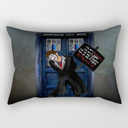 Doctor Anonymous Rectangular Pillow