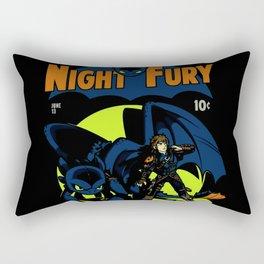Night Fury Comic Rectangular Pillow