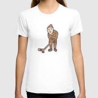 hockey T-shirts featuring Hockey Yeti by Kip Noschese