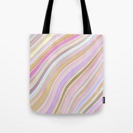MIld Wavy Lines V Tote Bag