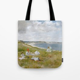 Idle Hours by William Merritt Chase Tote Bag