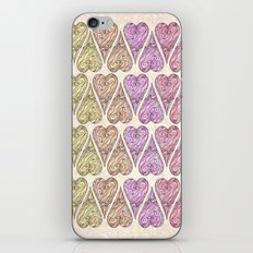 Heart, love, Valentine's Day, Vintage iPhone & iPod Skin