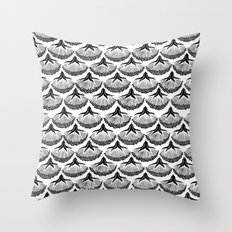 Dark Botanicals (2) Throw Pillow