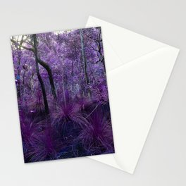 Conway National Park in Purple Stationery Cards