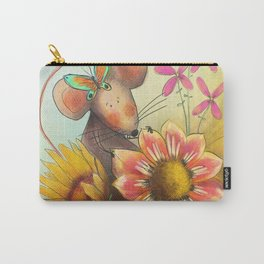 Spring Mouse Carry-All Pouch