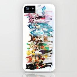 Eeveelution Dolls iPhone Case