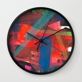 Navigating The Labyrinth Series 2 Wall Clock