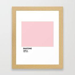 1975 // PANTONE - 7422 C Framed Art Print